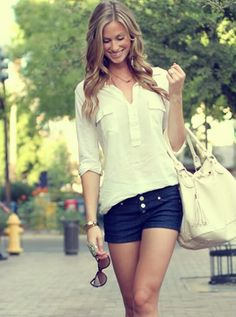 Cool and relaxed look