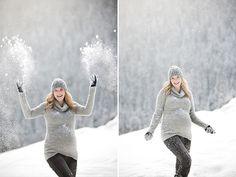 <3 #maternity #Portraits #snow