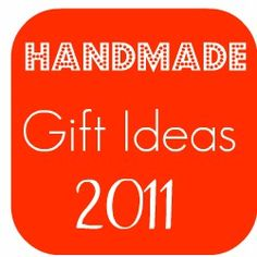 Lots of handmade gift tutorial links. #diy #crafts #hand_made #gifts #christmas #holidays