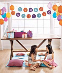 Birthday party idea: Everything backwards! (With lots of easy DIY ideas for kids)