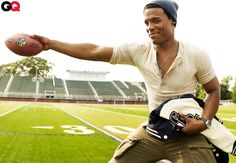Panthers QB Cam Newton will grace the cover of GQ's NFL Kickoff issue this September!