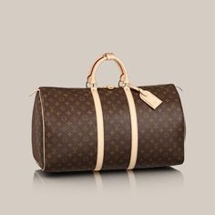 Louis Vuitton Keepall 55 - Perfect for Weekend Trips :)