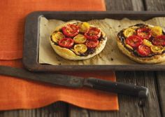 Cherry Tomato and Tapenade Tartlets | Vegetarian Times