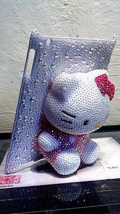 Bejewled Hello Kitty IPAD Case