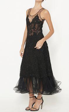Balmain Black Dress | VAUNTE