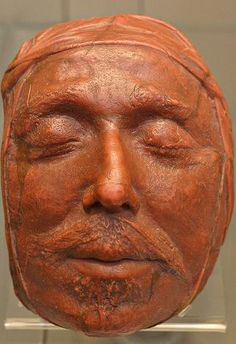 Death Mask of Oliver Cromwell