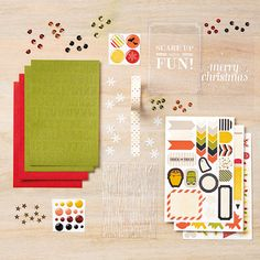 Seasonal Snapshot Project Life Accessory Pack - by Stampin' Up! #seasonalsnapshot #stampinup #plxsu #remarkablycreated