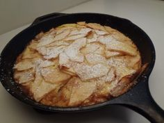 Dutch apple pancakes