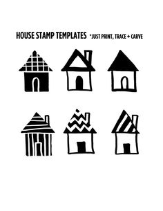 house-stamp-templates