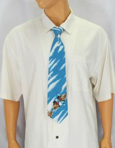 Car Pattern Necktie - Noa : Shaka Time Hawaii Clothing Store More