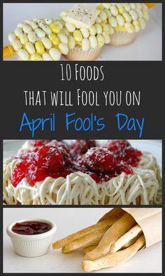 10 April Fool's Day Recipes on RachelCooks.com