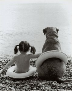 A girl's best friend is her dog. :)