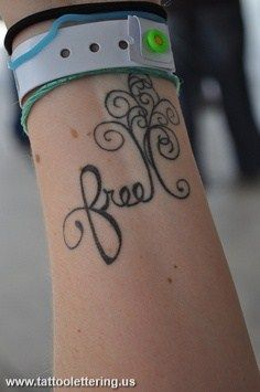 Free Tattoo quote