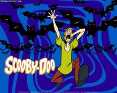scooby doo | Scary Bats Scooby Doo Halloween Wallpaper - Scooby Doo Wallpapers