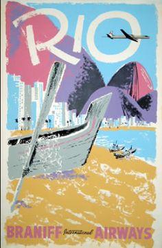 Rio - Braniff Airways