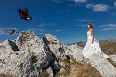 wedding in Rocca Calascio - Abruzzo © Mauro Cantoro, Italy, Abruzzo, Lady Hawke, 2011