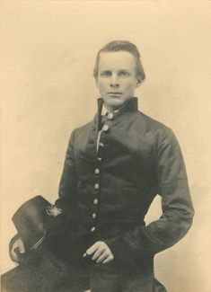 """Here is Lt. Colonel John Pelham, aka """"The Boy Artillerist"""" or """"The Gallant Pelham"""", was the chief of Stuart's artillery. He helped to revolutionize artillery tactics through """"horse artillery"""". Pelham was killed at Kelly's Ford in 1863."""