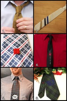 6 Nerdy Neckties for Father's Day #DIY