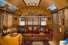 A Fabulous Airstream trailer decked out Adirondack style, photo by Craig Dorsey