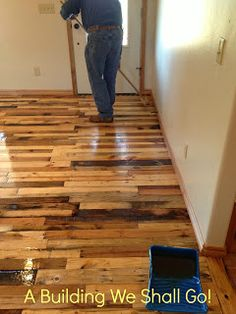A Building We Shall Go!: The Art Of Pallet Wood Flooring