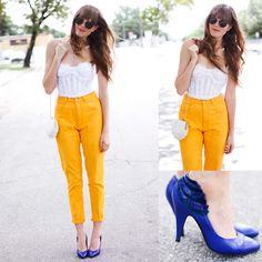 BRIGHT MIAMI COLORS.  (by Steffy Kuncman) http://lookbook.nu/look/3782009-BRIGHT-MIAMI-COLORS