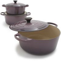 """all things le creuset...especially in """"cassis."""""""
