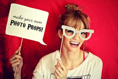 the letter 4: Make Your Own Photoprops