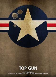 Top Gun - Minimalist Movie Poster |