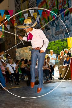 Charreria (Rope Tricks), Part of a Folkloric Performance at the Casa Herradura Tequila Distillery ~  Tequila, Jalisco, Mexico #monogramsvacation