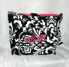 Purse Tote Bag Fabric Handmade Tote Custom by RidgeTopEmbroidery, $32.00