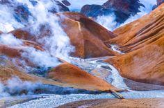 Trekking in stunning Iceland...