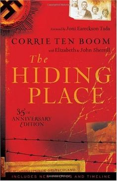 the Hiding Place by Corrie Ten Boom tells of Corrie's time in a German concentration camp.