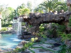 Ultimate Water Creations - FOUNTAINS, PONDS, GROTTOS & CAVES