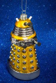 Doctor Who: Golden Dalek Ornament