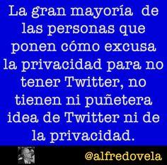Twitter y la privacidad