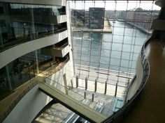 The Royal library Black Diamond in Copenhagen