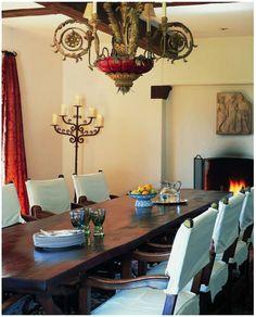 dining rooms, chair, detail, dine room, santa barbara, spanish coloni, hacienda style, spanish style, design