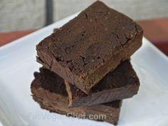 Gluten Free Vegan Black Bean Brownies