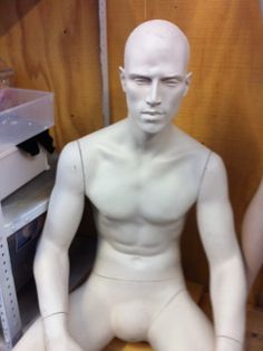 This Rootstein mannequin was one of many that we had for sale last year