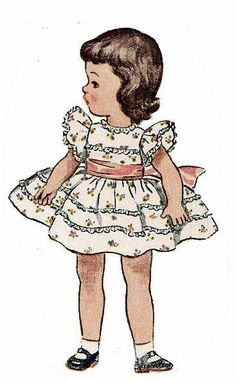 doll dresses, doll clothes patterns, baby patterns, birthdays, vintag imageslaps