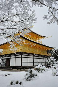 Kinkaku-ji Temple, Kyoto, #Japan