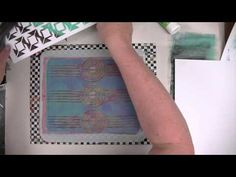 Patina Gelli Prints Tutorial from Patti Tolley Parrish!! -  This video is a tutorial on how to make Patti's very cool Patina Gelli Prints!