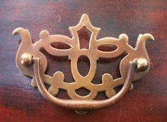"""Gorgeous..Chippendale Antique Cabinet Drawer Pulls.....2.5"""" on center"""