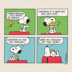 Christmas with Snoopy and Woodstock.