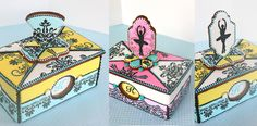 All-Cookie Jewelry Boxes for the OK State Sugar Art Show made by Julia M Usher (The show's theme was ballet.)