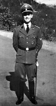 Priebke, seen here during World War II, was given life for the 1944 massacre in Italy.