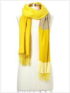 Colorblock Scarf from Gap