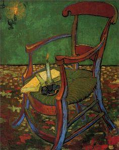 Armchair : Paul Gauguin : 1888