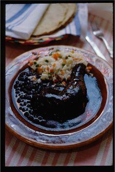 Mole de Xico, receta por Zarela #mexicanfood #recipe