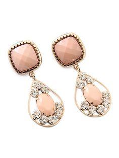 lovely LIZ LISA pink earrings